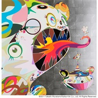 homage to francis bacon (study of george dyer) by takashi murakami