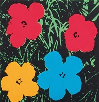 andy warhol (flowers) by richard pettibone