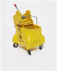 rubbermaid mop ringer and bucket by tom sachs