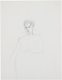 untitled (male nude) by elizabeth peyton