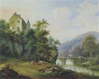 weideidyll by joseph altmann