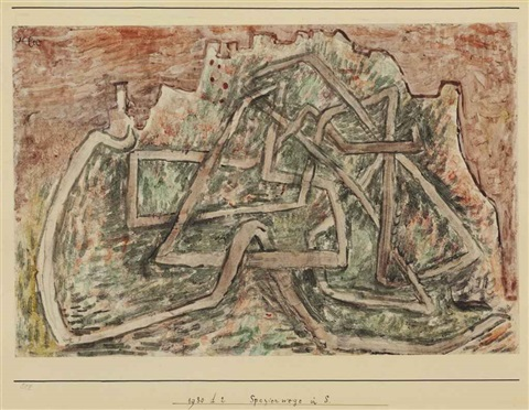 spazierwege in s by paul klee