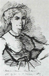 portrait of a young woman by charles baudelaire