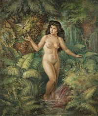 a source of the water of life by josef (kamenitzky) steiner