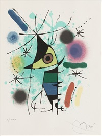from 'joan miro lithographe i' by joan miró