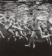 aquacade by philippe halsman