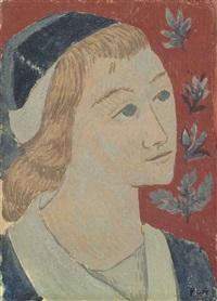 portrait d'une jeune bretonne by paul sérusier
