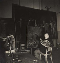 graham sutherland (+ 2 others; 3 works) by peter rose pulham
