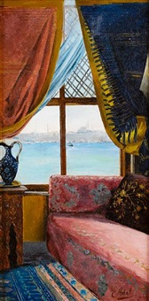 a window onto the bosphorus by e. adil