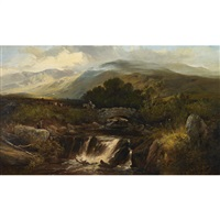 highland landscape by joseph adam