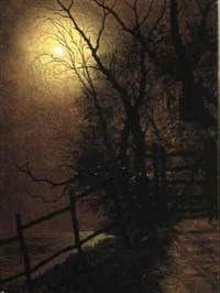 moonlit scenes by j. foster