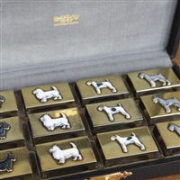 canine matchbox safes (set of 12) by udall & ballou