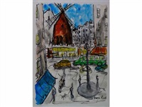 pigalle le moulin rouge by emilios coukidis