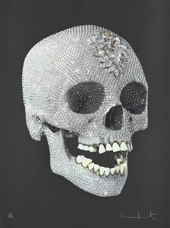 for the love of god shine by damien hirst