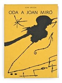 oda a joan miró (book w/1 work) by joan miró