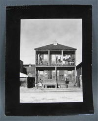 negro house, new orleans, louisiana by walker evans
