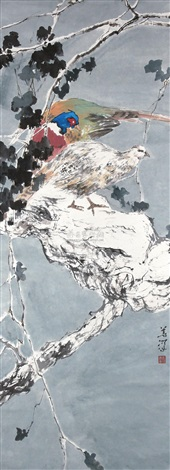 双鸟 by yang shanshen