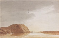 cape diamond from the st. lawrence by benjamin (major-general) fisher