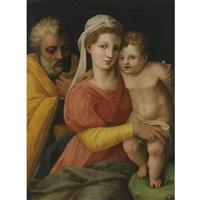 the holy family by perino del vaga