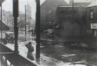 rain, pittsburgh, pennsylvania by john vachon
