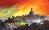 borobudur temple by pardoli fadli