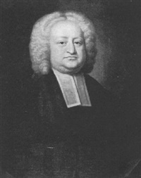 portrait of rev. mr. james adams, rector of bibington, cheshire by james fellowes