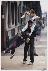 man stack of b-boys by martha cooper