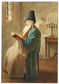 bauer (+ pope in interieur; 2 works) by luigi premazzi