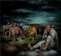 le gardien de troupeau by nada svegovic-budaj