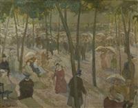concert dans le parc by waclaw zaboklicki