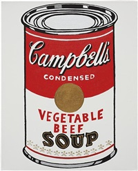 campbell's soup can (not warhol) by mike bidlo