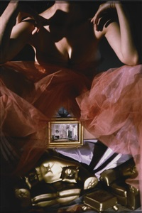 room underneath (gold) by laurie simmons