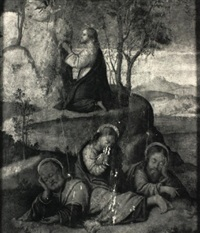 christ praying in gethsemene by francesco rizzo da santacroce
