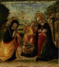 adorazione del bambino by bernardino butinone