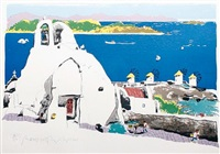 mykonos by paul hogarth