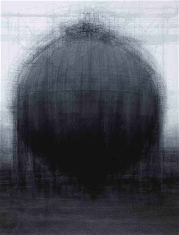 every bernd and hilla becher spherical type gasholders by idris khan