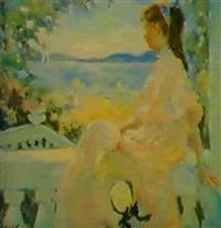 sur le balcon by oleg orlov