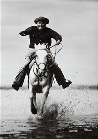 french horseman by irving penn