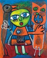 la fille au chat by isabelle gotkiewicz