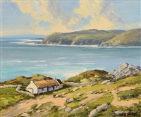 on the atlantic drive, co. donegal by william h. burns