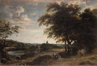 paesaggio con figure by daniel van heil
