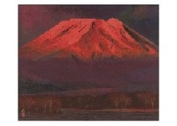 mt. fuji in the morning by kato toichi