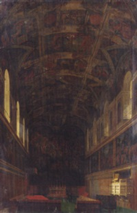 the sistine chapel by victor navlet