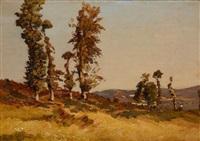 paysage by louis alexandre cabié