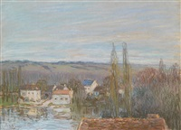 l'abreuvoir se marly by alfred sisley