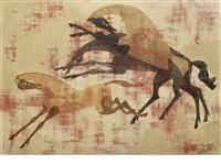 three horses by john armstrong