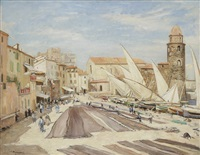 collioure by ladislas medgyes