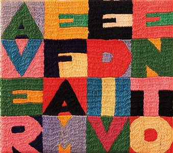 artwork by alighiero boetti