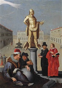 an allegory of the liberal arts by louis de caullery