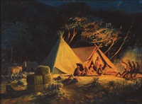wild horse camp by edward burns quigley